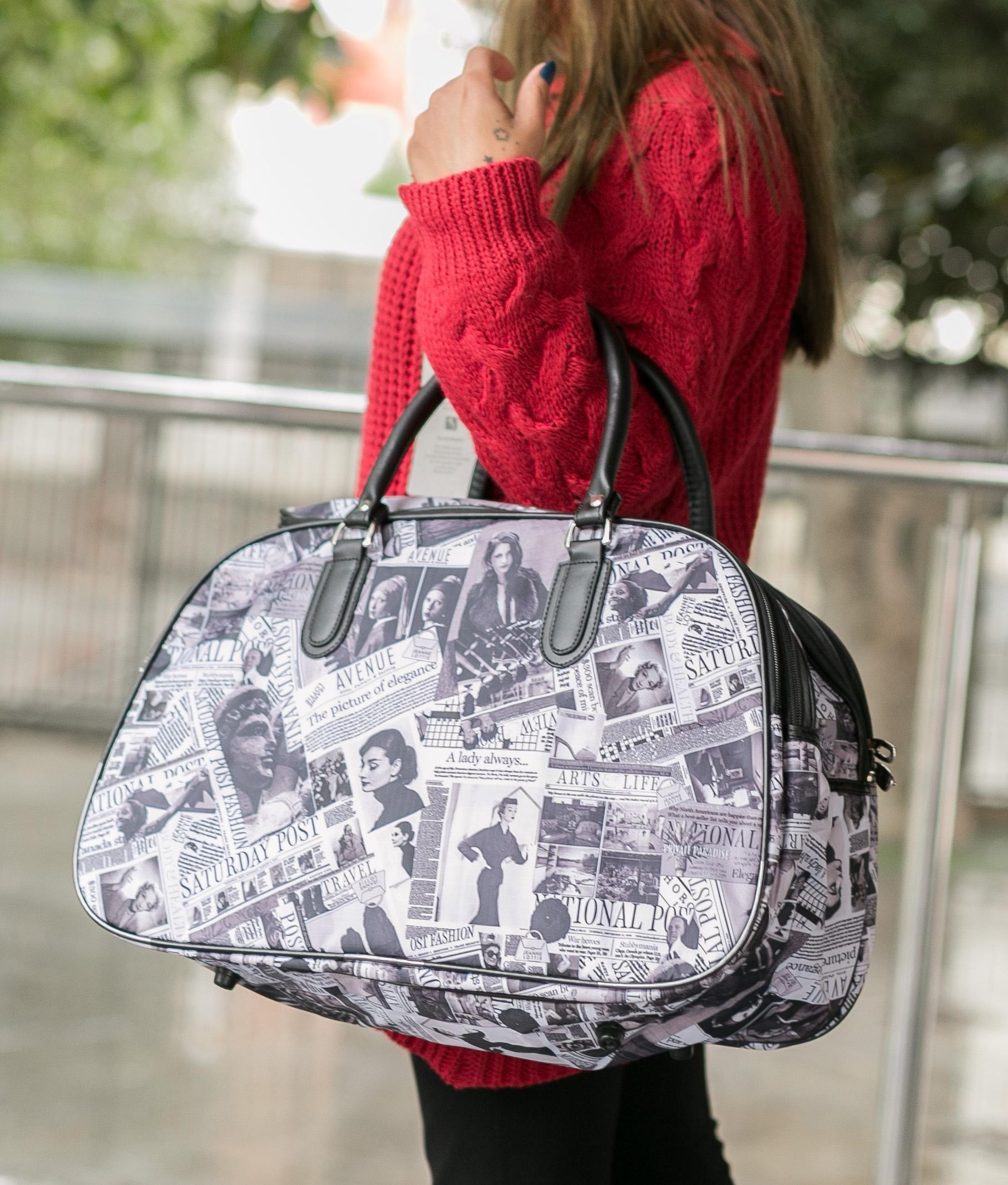 Travel Bag Paper - Brown
