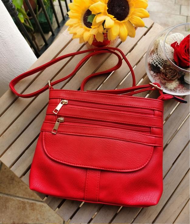 Kiky shoulder bag - red