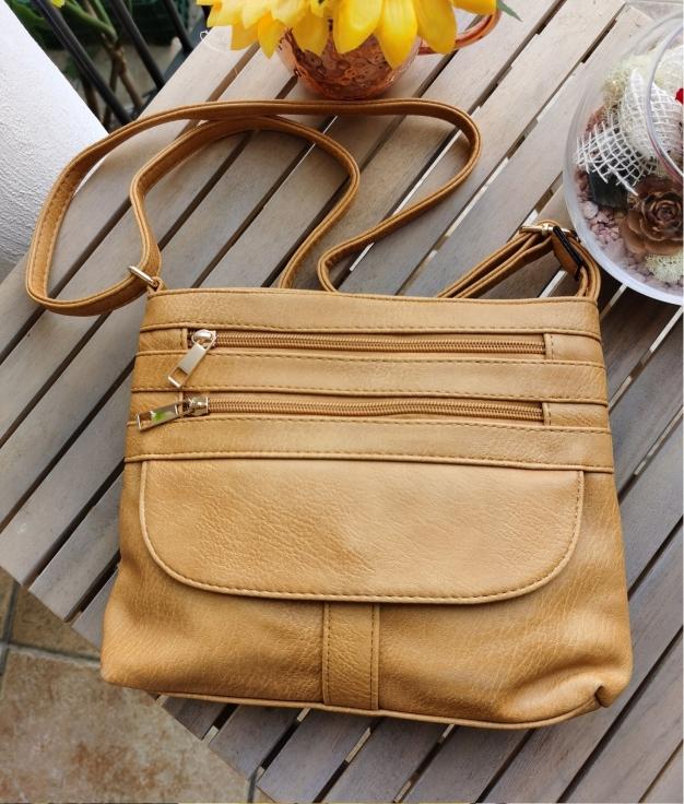 Kiky shoulder bag - mustard
