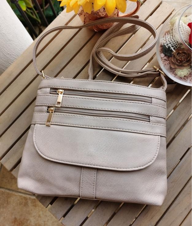 Kiky shoulder bag - beige