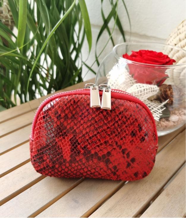 Lucas coin purse - red