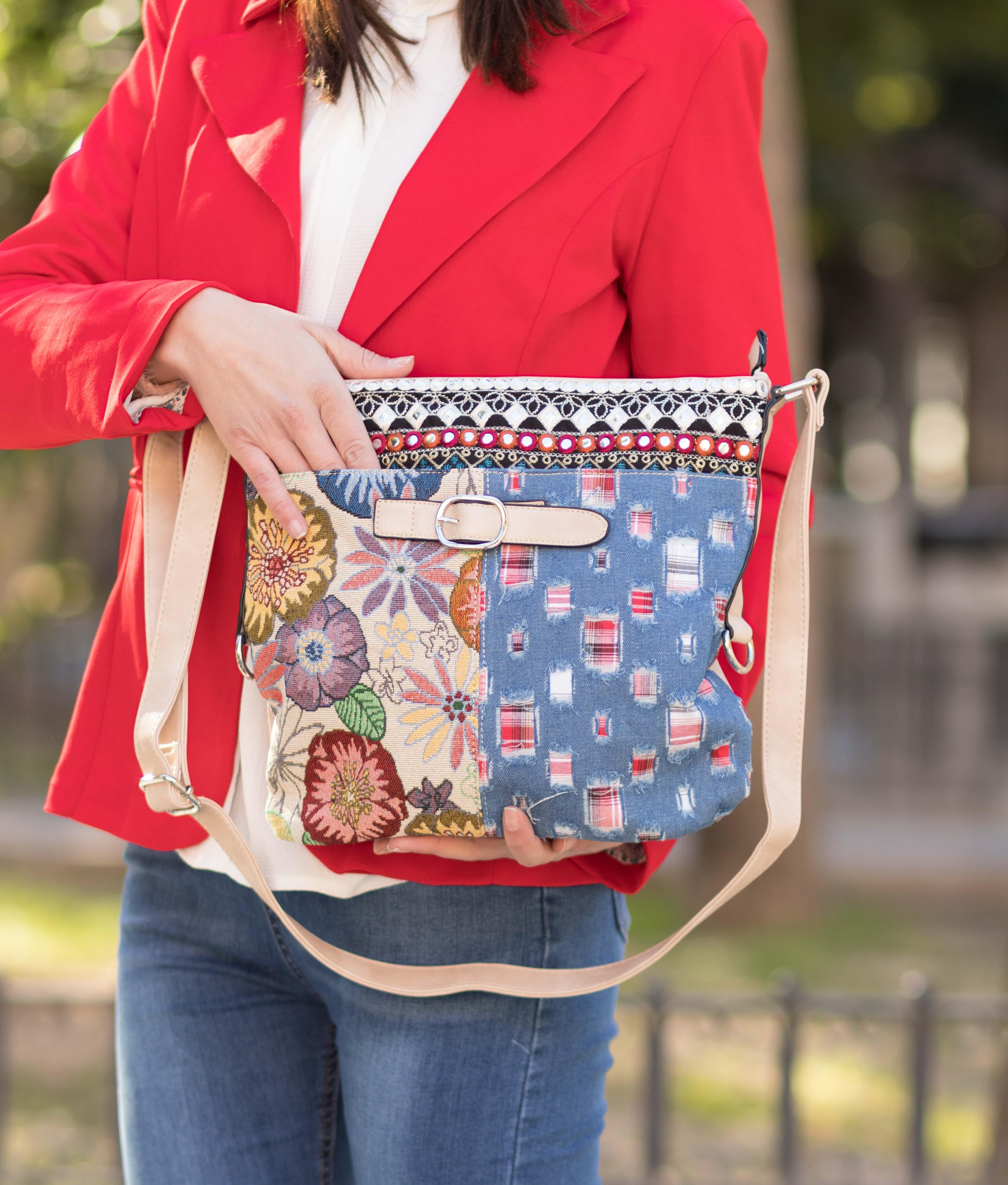 Shoulder Bag Riena - Khaki