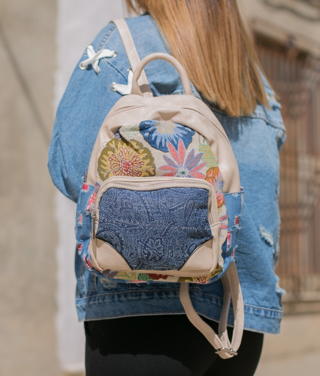 Backpack Irole - Beige