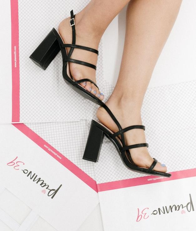 High Sandal Goral - Black