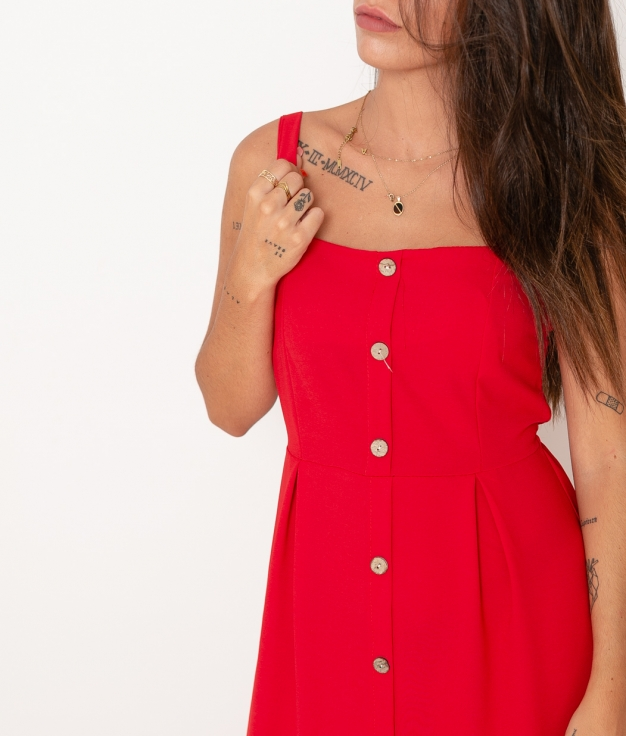Vestido Rif - Rojo
