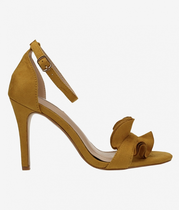 Sandalia de Tacón Triana - Amarillo
