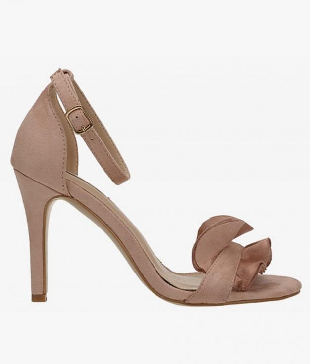 Sandalia de Tacón Triana - Rosa