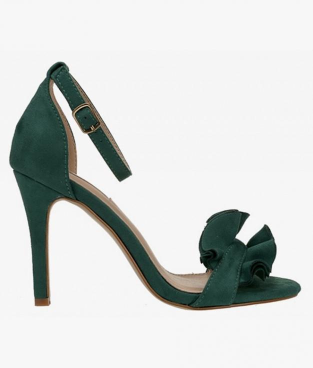 Sandalia de Tacón Triana - Verde