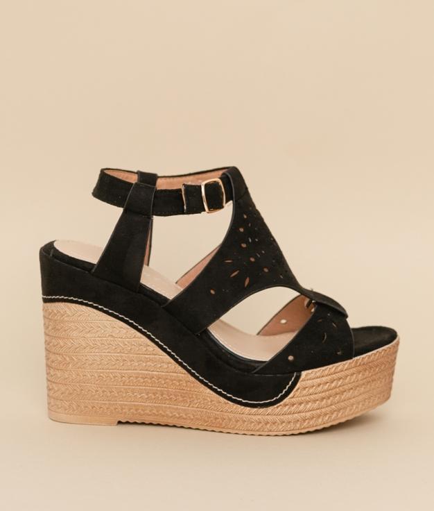 Wedge Heel Aricia - Black