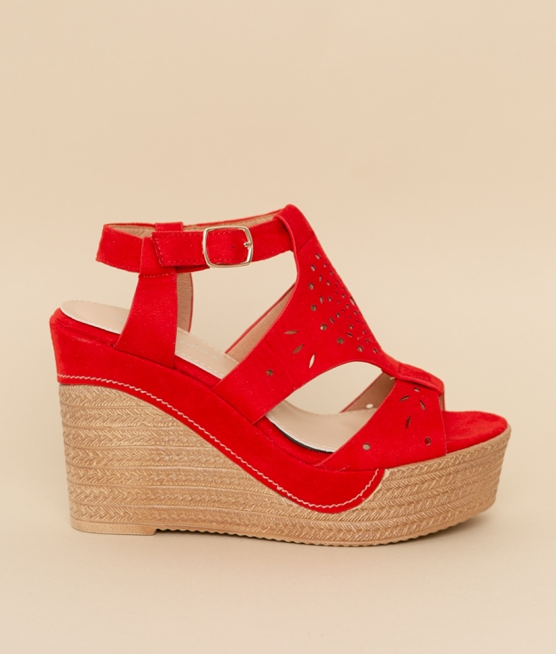 Wedge Heel Aricia - Red