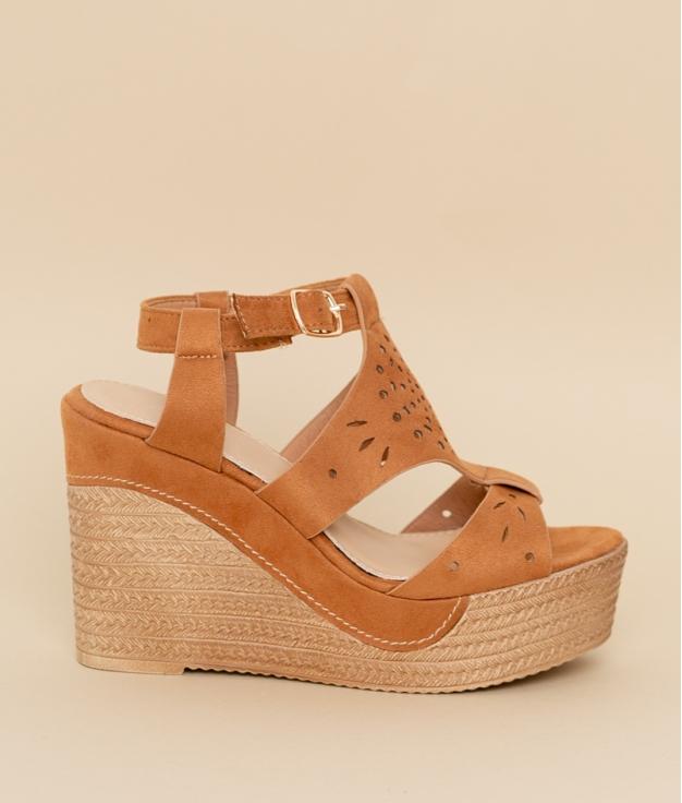 Wedge Heel Aricia - Camel