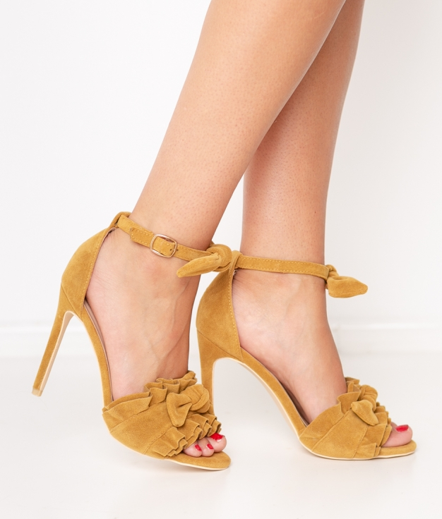 Sandalia de Tacón Yoin - Amarillo