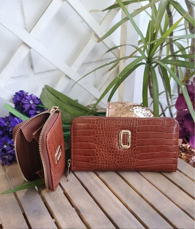Wallet Gemini - brown