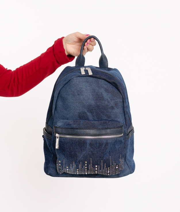 Backpack Alazne - Dark Denim