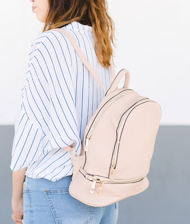 Backpack Abur - Beige