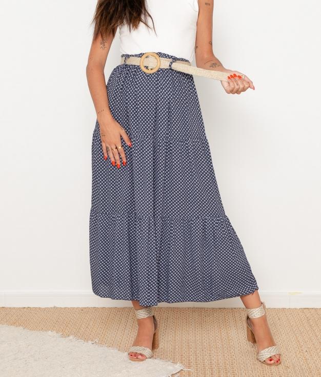 Falda Prona - Azul