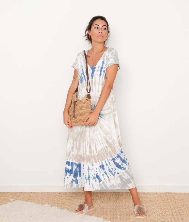 Vestido Bao - Azul