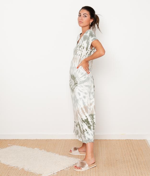 Vestido Bao - Gris