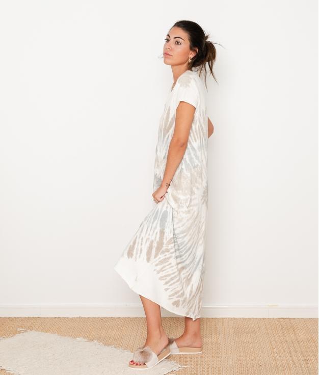 Vestido Bao - Taupe