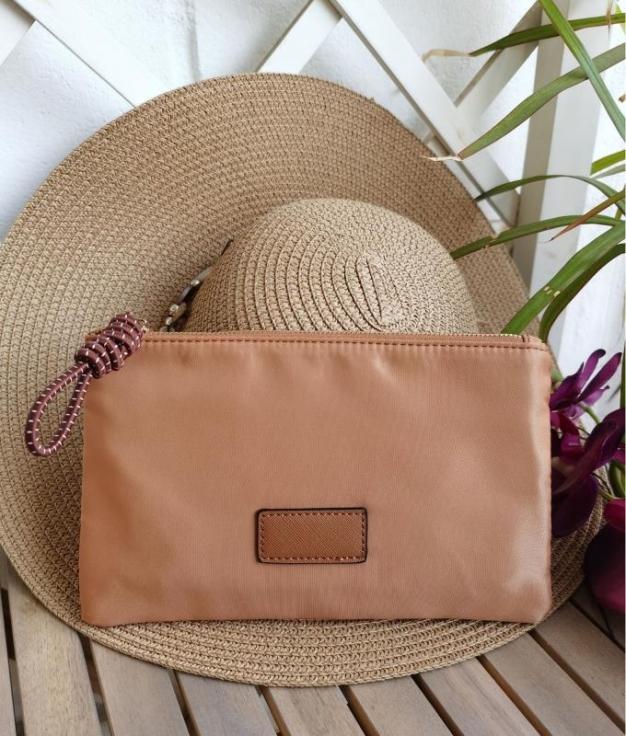 coin purse Tina - brown