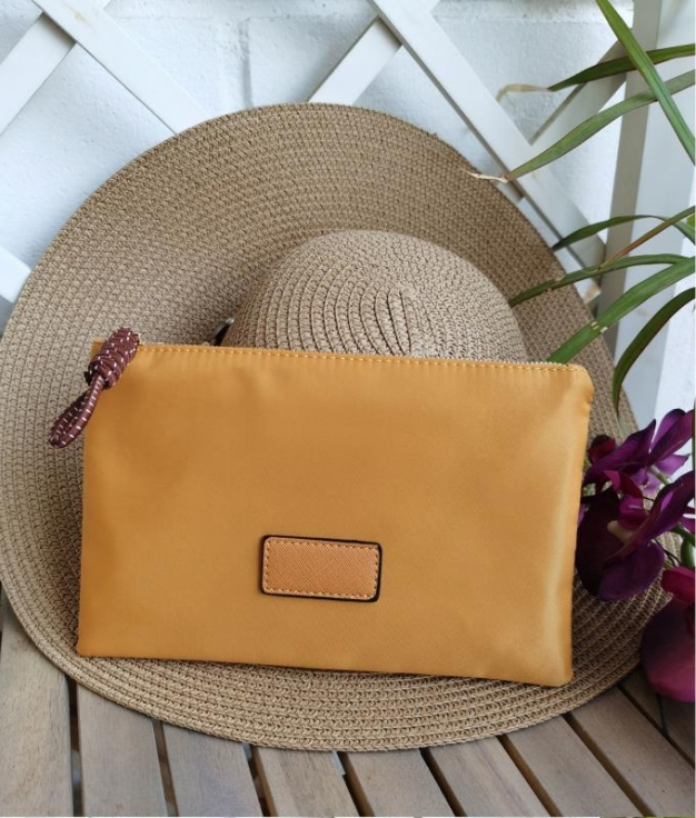 coin purse Tina - mustard
