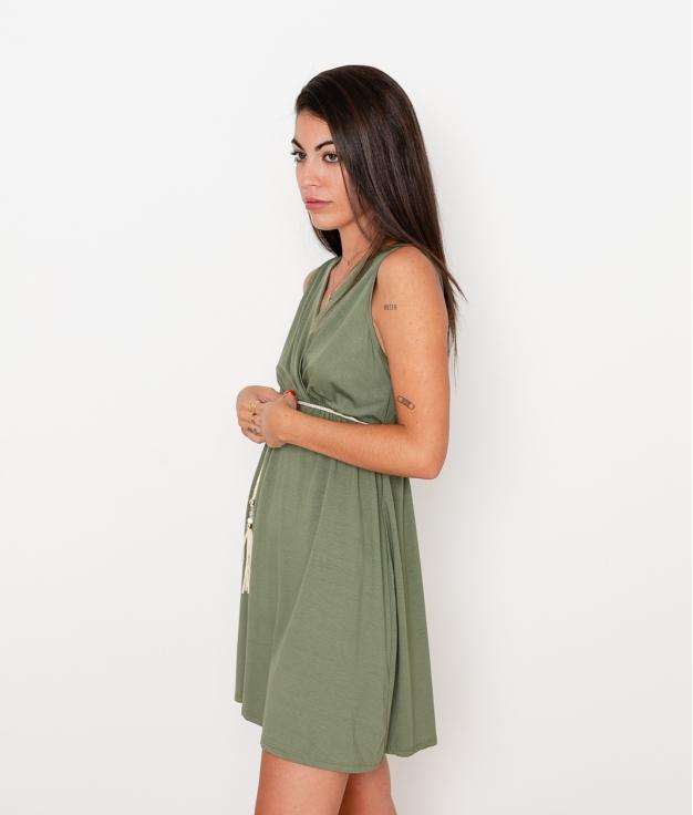 Vestido Melina - Kaki