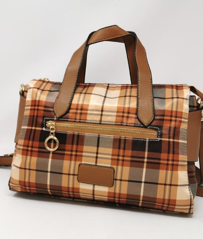 LARA BAG - YELLOW BROWN