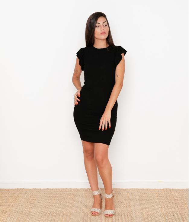 Vestido Valle - Negro