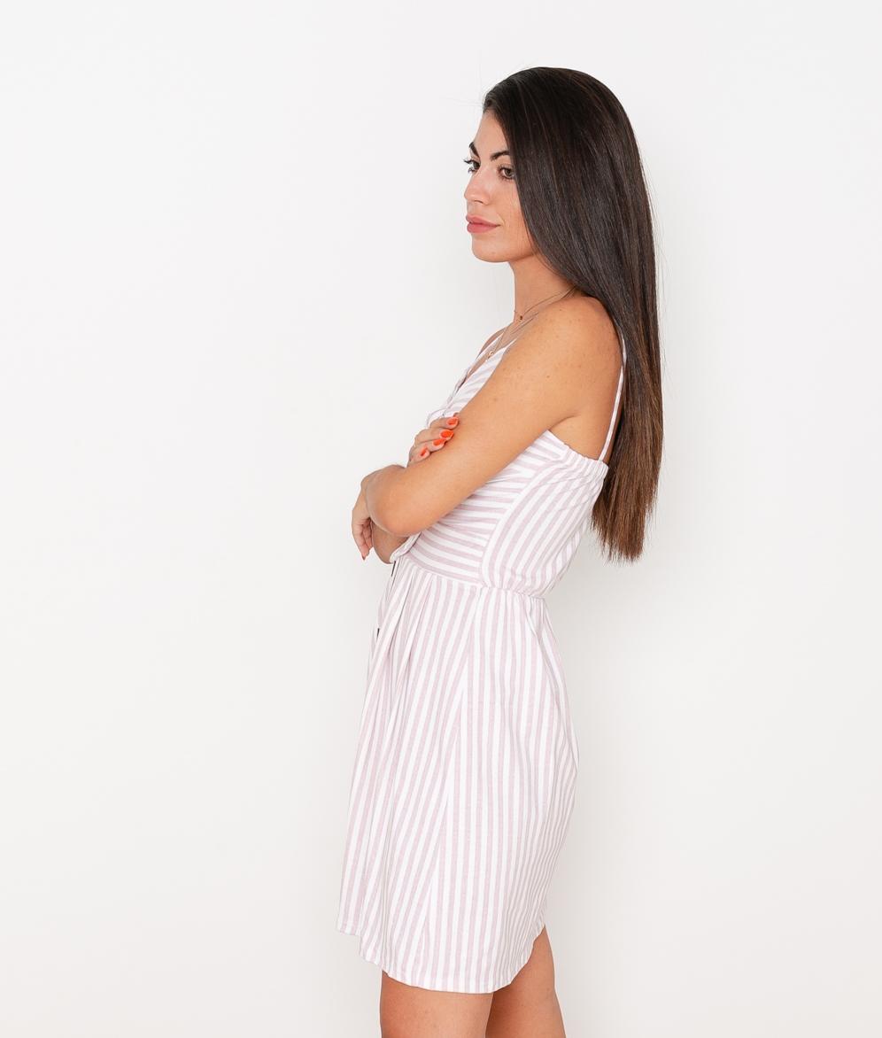 Vestido Caliope - Rosa