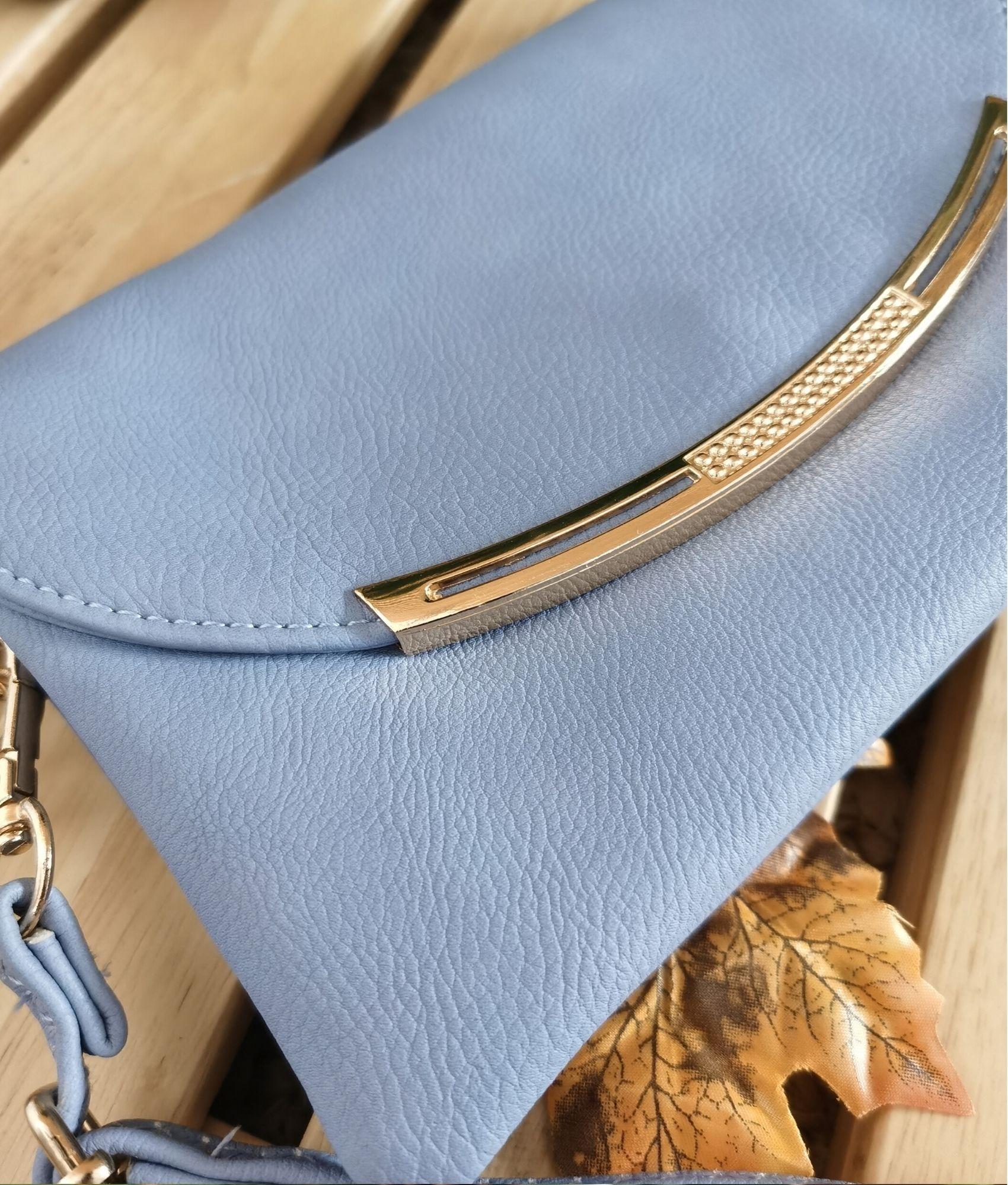 Bolsa de ombro Ala - azul claro
