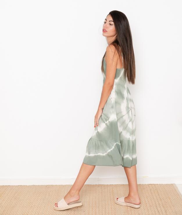 Vestido Axel - Kaki