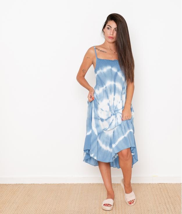 Vestido Axel - Azul Claro