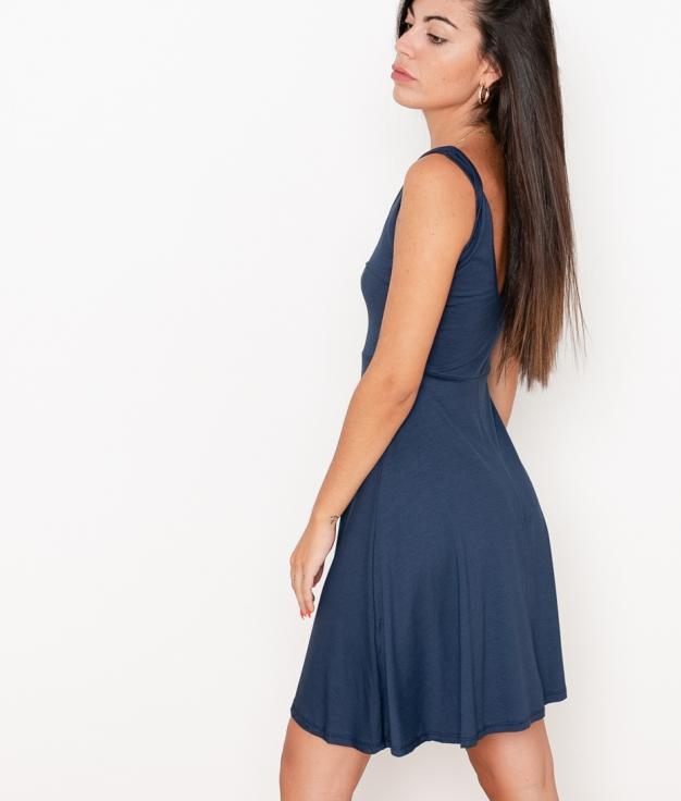 Vestido Renata - Azul Marino