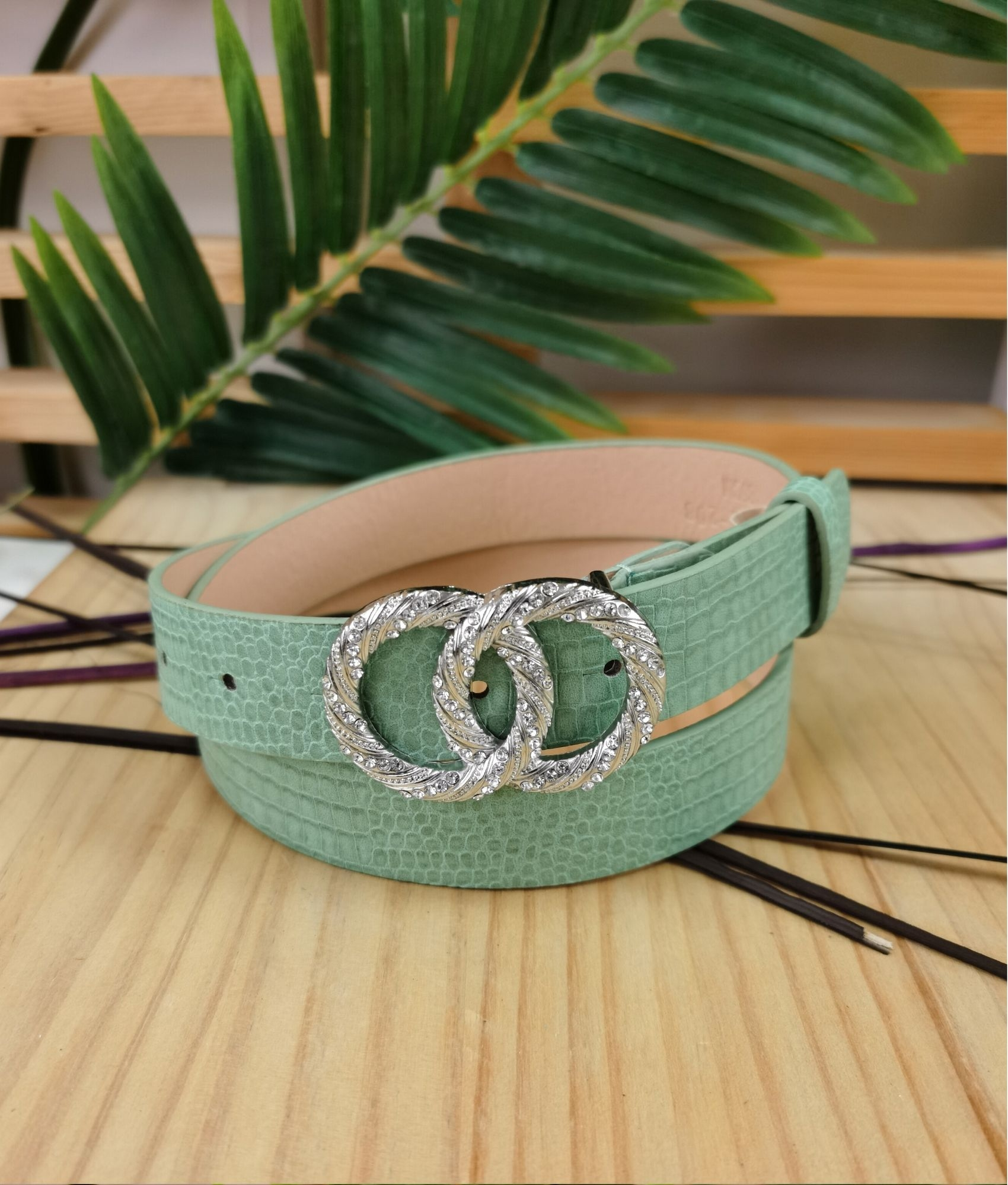 Belt Olimpic - water green
