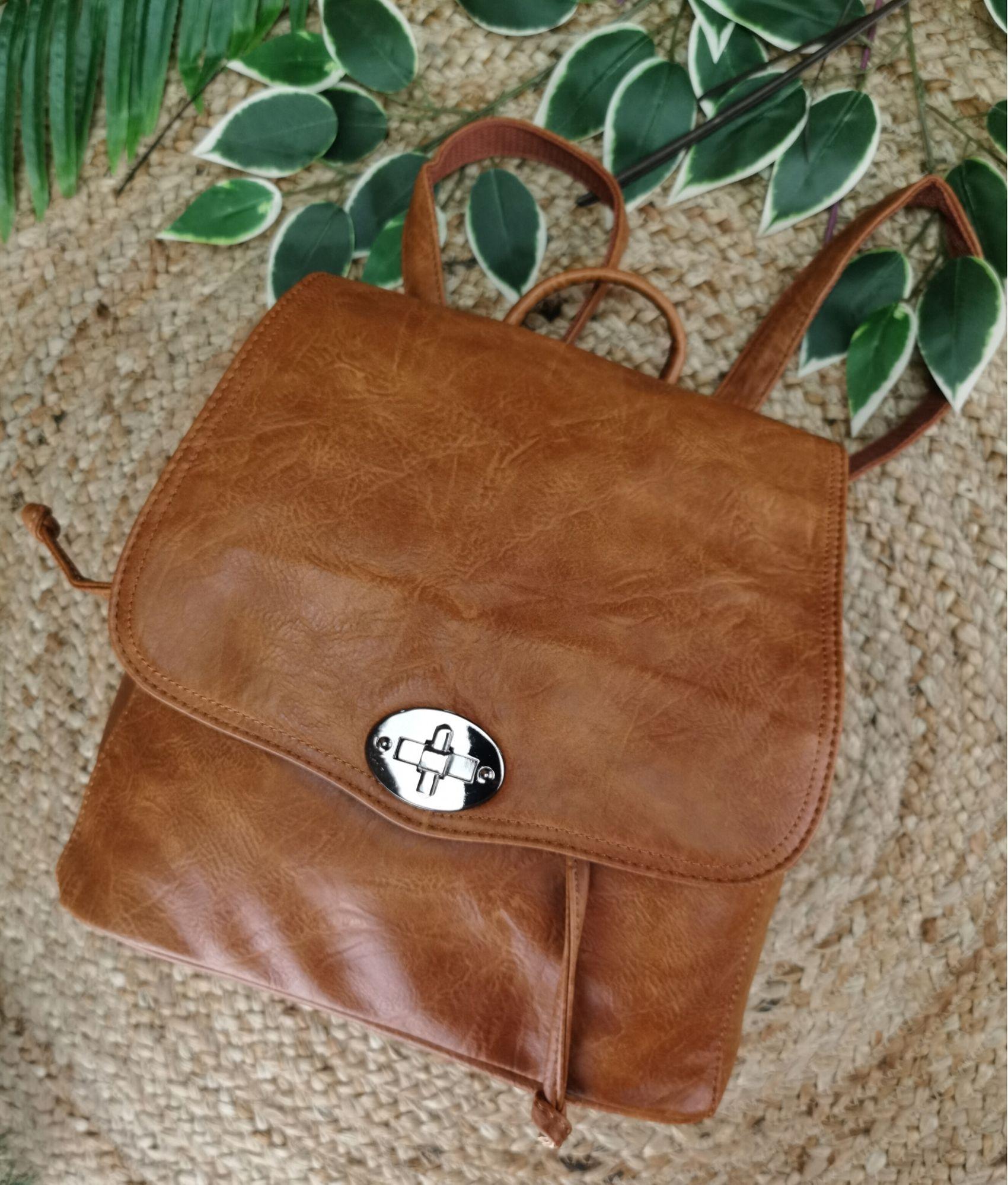 Backpack Hueter - brown