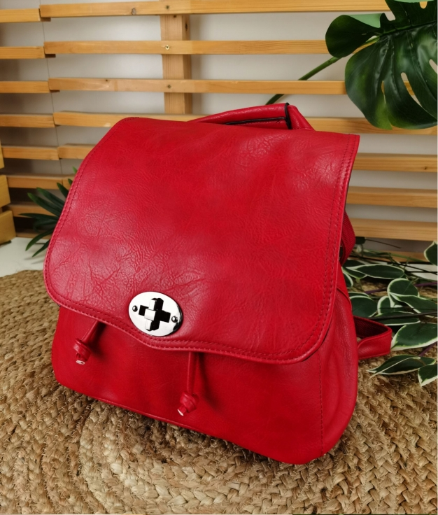 Backpack Hueter - red