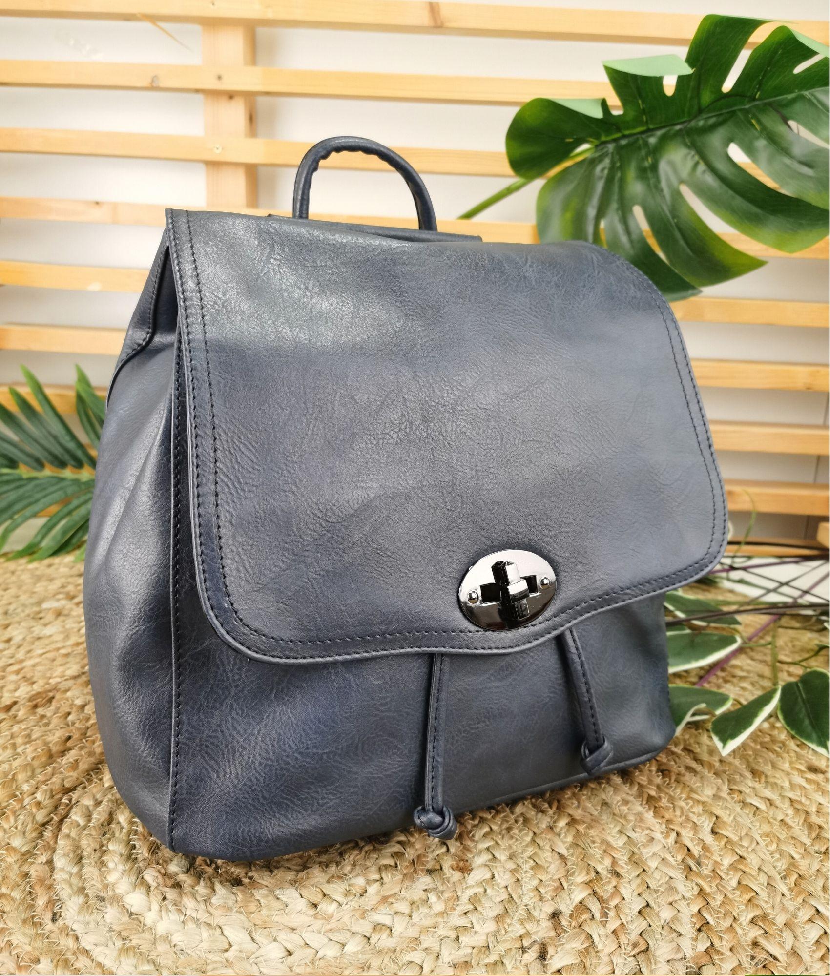Backpack Hueter - navy blue