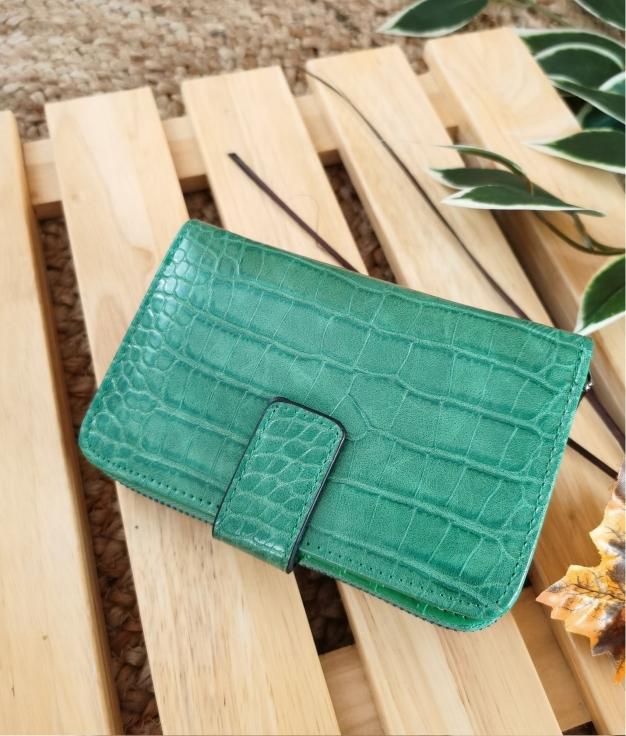 Minni wallet - green