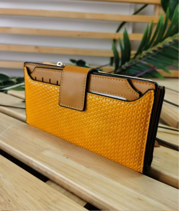 Wallet Mare - yellow
