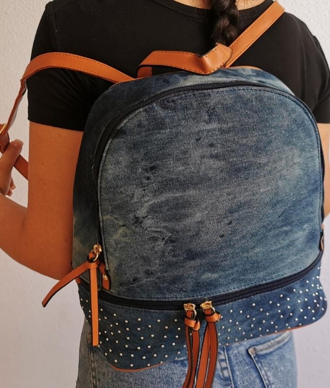 RINOA BACKPACK - DENIM