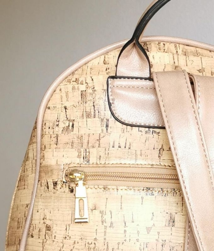 MILA BACKPACK - APRICOT BEIGE