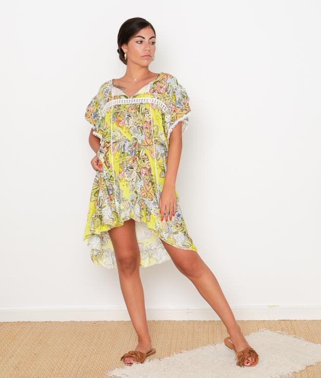 Vestido Pointer - Amarillo