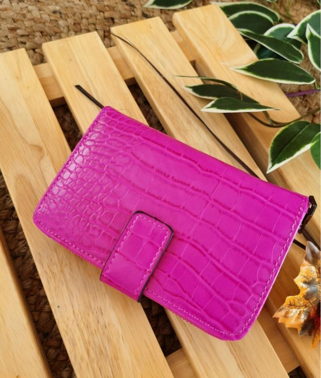 Minni wallet - fuchsia