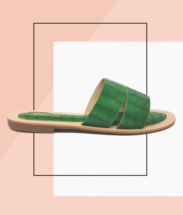 Flat Sandal Rueda - Green