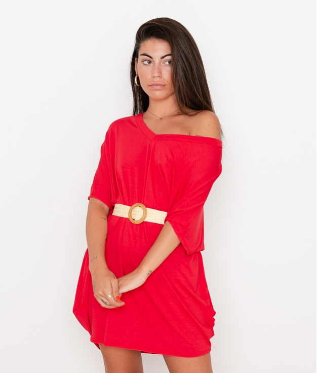 Vestido Izaro - Rojo