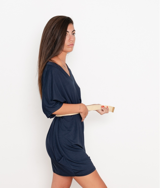 Vestido Izaro - Azul Marino