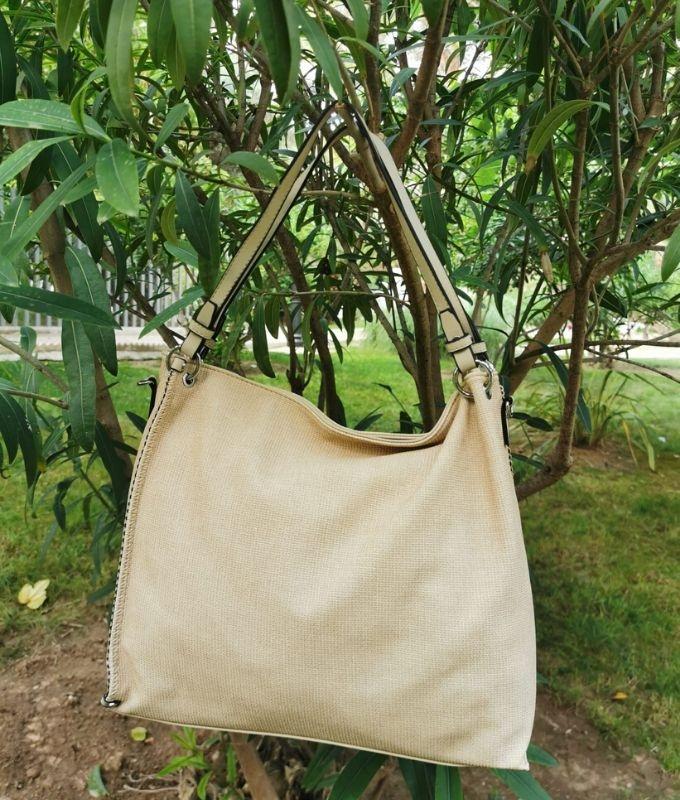 GRETA - BEIGE BAG