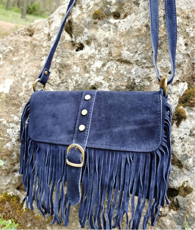 Shoulder bag Marta - navy blue