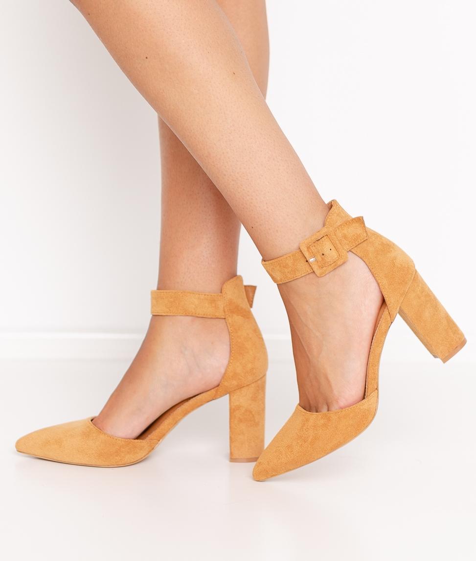 Zapato de Tacón Calfor - Camel
