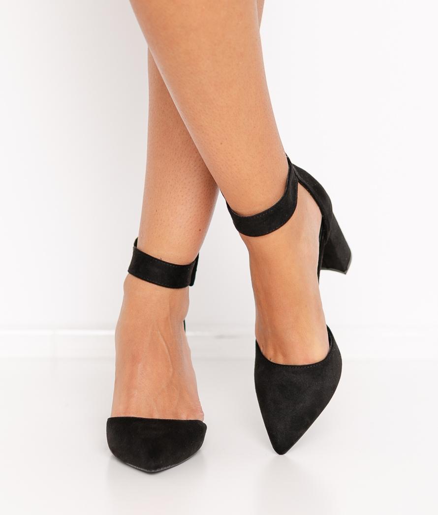 Zapato de Tacón Calfor - Negro